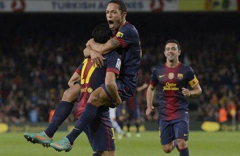 Барселона отрывается от Атлетико + ВИДЕО