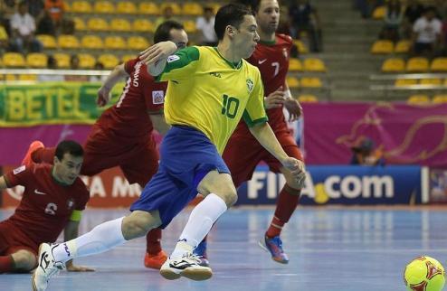 Футзал. Бразилия обыгрывает Португалию