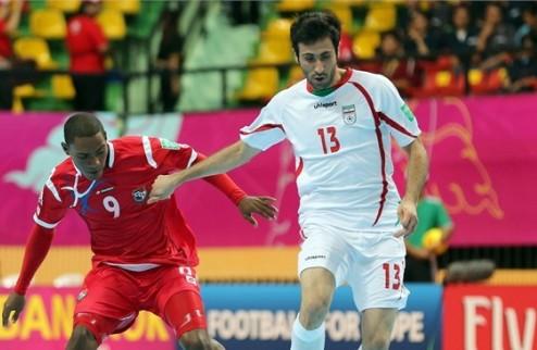 Футзал. Группа В. Испания, Иран и Панама в плей-офф