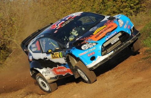 WRC. Ралли Испании. Остберг лидирует в первый день