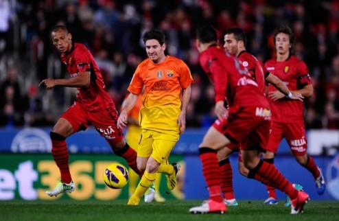 Мальорка дала бой Барселоне, Атлетик справился с Севильей + ВИДЕО