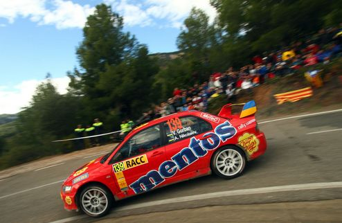 Два экипажа Mentos Ascania Racing на финише RallyRACC-Rally de Espana