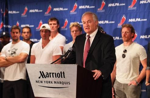НХЛ. Посредник готов помочь Лиге и Профсоюзу