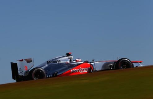 Формула-1. Баттон опасается проблем в первом повороте