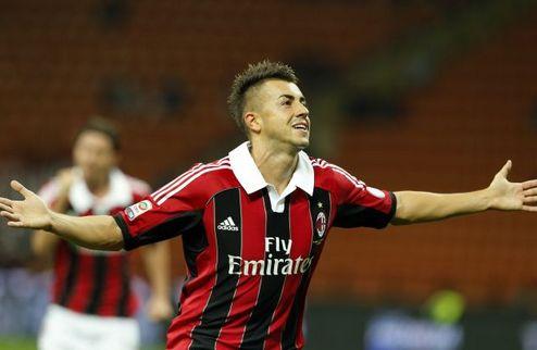 Милан спасается в Неаполе