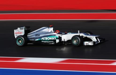 Формула-1. Шумахер избежал наказания за инцидент с Алонсо