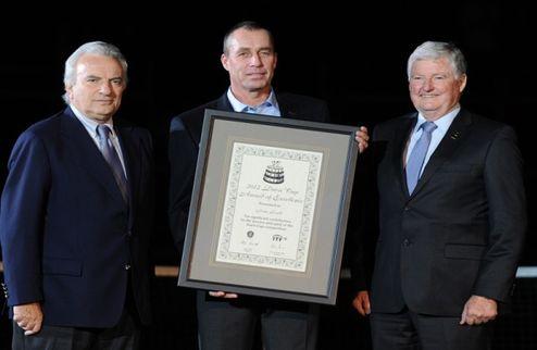 Лендл награжден специальной премией Кубка Дэвиса