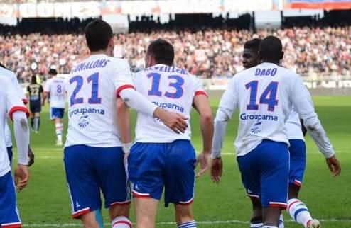 Лион возглавил французский чемпионат