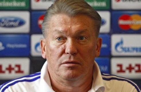 """Блохин: """"Команда будет играть на победу, будет биться"""""""
