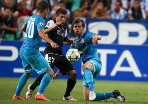 Группа С. Бесполезное спасение Зенита, выход Милана в плей-офф