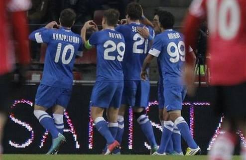Днепр выигрывает группу Лиги Европы!