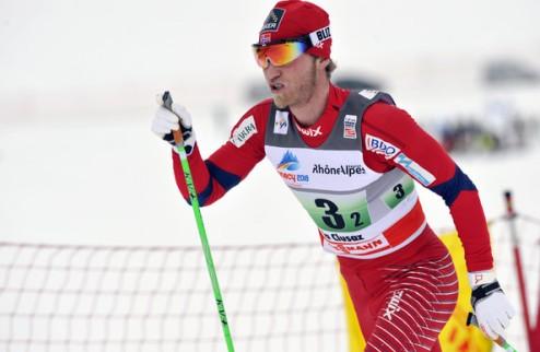 Лыжные гонки. Йонсруд побеждает в Гьелливаре
