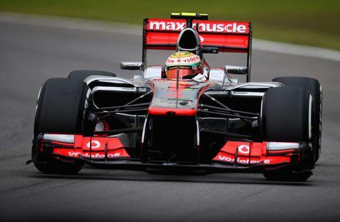 Формула-1. Гран-при Бразилии. Первый ряд Макларена, неудача Алонсо