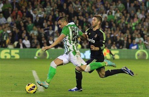 Бетис лишает Реал надежд на титул?