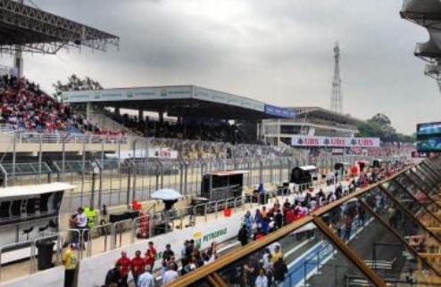 Формула-1. В Бразилии перед гонкой облачно, но сухо