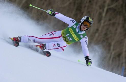 Горные лыжи. Цеттель выиграла первую попытку