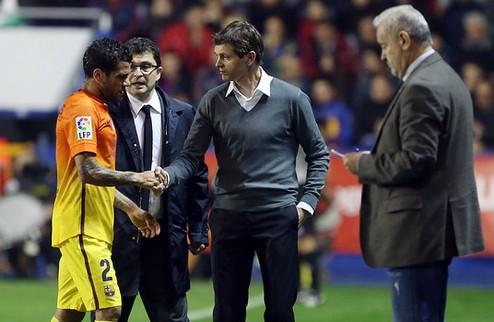Барселона лишилась Алвеша