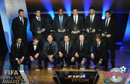 2012 FIFPro World XI: ����������� ������ ����������