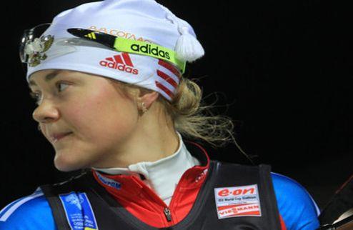 Биатлон. Юрлова заменит Слепцову в индивидуальной гонке