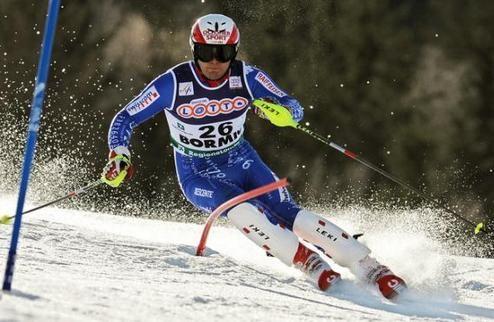 Горные лыжи. Альбрехт перенес операцию на колене после падения