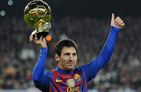 Золотой Мяч-2012: Месси, Роналду или Иньеста
