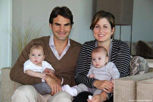 Федерер благодарен жене и верит в Дель Потро