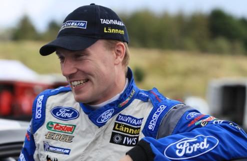 WRC. Яри-Матти Латвала попал в ДТП