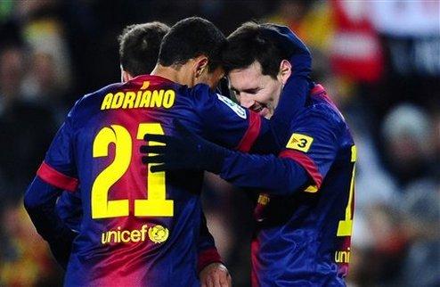 Барселона разбила Атлетик