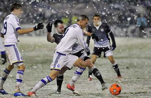 Динамо упускает победу в Загребе