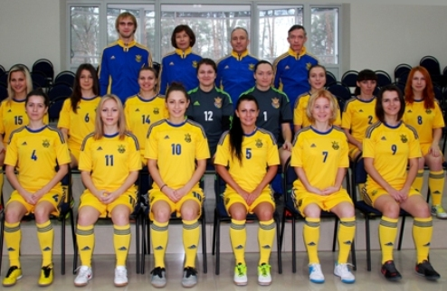 Футзал. Женская сборная Украины уступила испанкам