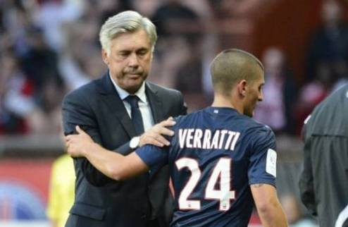 Верратти: мы с Анчелотти останемся в ПСЖ