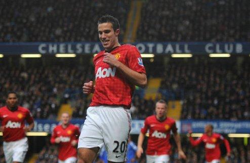 Ван Перси рад, что выбрал Юнайтед