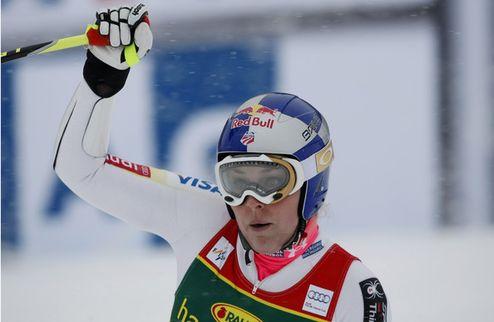 Горные лыжи. Очередная победа Вонн