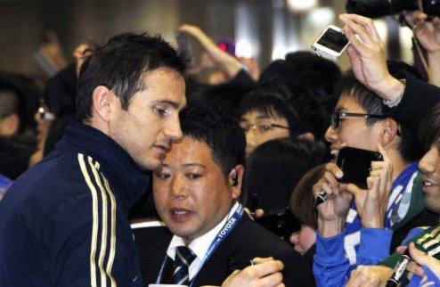 Челси прибыл в Японию