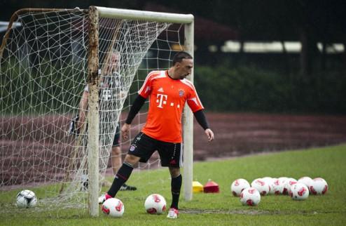 Рибери хочет от Баварии новый контракт