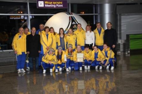 Футзал. Женская сборная Украины вернулась из Португалии