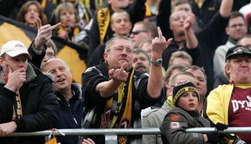 Динамо Дрезден: болельщики выкинули клуб из Кубка Германии