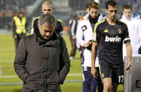 Marca: Моуриньо сидит на пороховой бочке