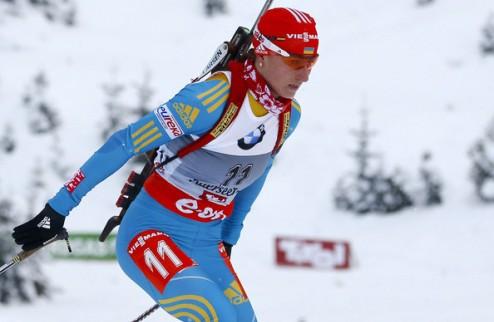 Биатлон. В масс-старте выступят только Пидгрушная и Вита Семеренко