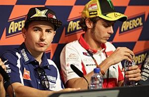 """MotoGP. Лоренсо: """"В этот раз стены между мной и Росси не будет"""""""
