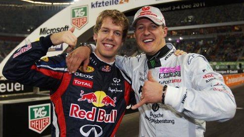 Формула-1. Шумахер против сравнения с Феттелем