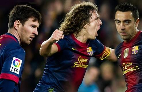Официально: Барселона продлевает контракты Месси, Хави и Пуйоля