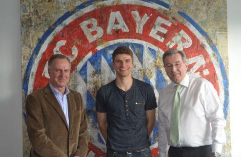Мюллер подписал с Баварией новый контракт