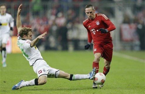 Рибери дисквалифицирован на два матча Кубка Германии