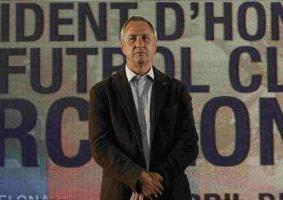 Круифф: болезнь Вилановы не скажется на результатах Барселоны