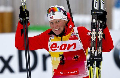 Биатлон. Бергер и Бьорген претендуют на звание спортсменки года в Норвегии