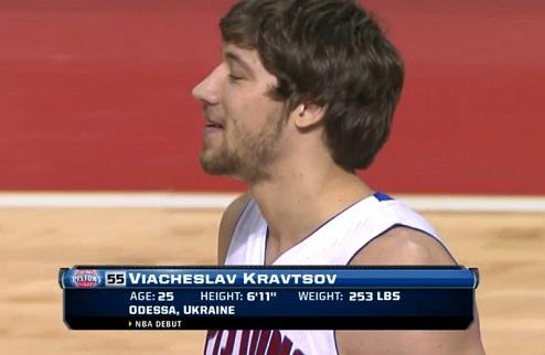 Вячеслав Кравцов дебютировал в НБА!