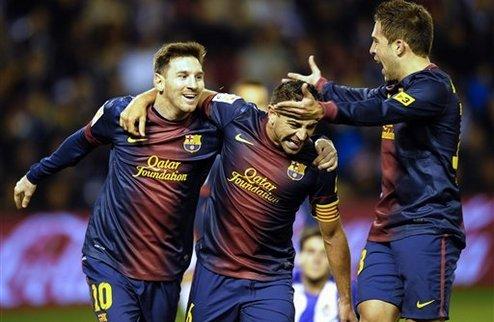 Барселона победила без Вилановы