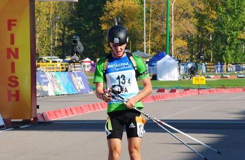 Биатлон. Пидручный выиграл спринт на чемпионате Украины