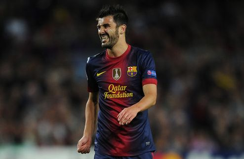 Барселона не продаст Вилью